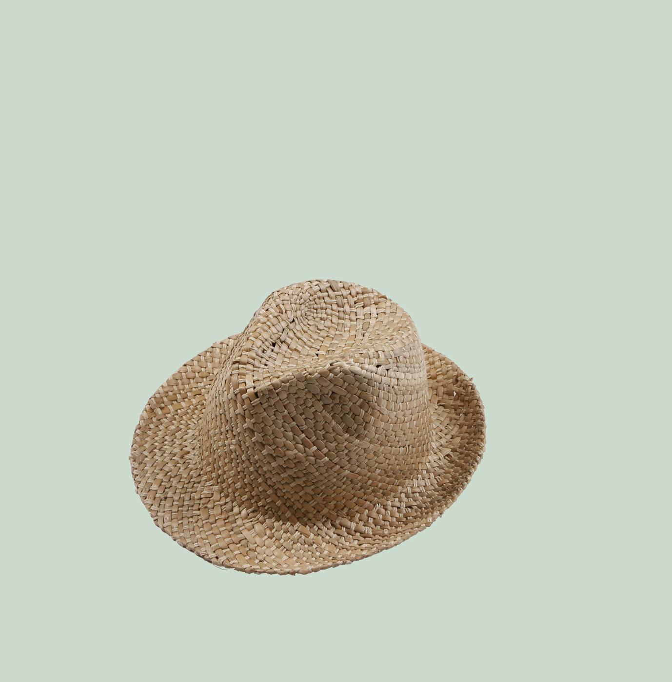 Dámský slaměný klobouk prošívaný Kbas béžový 255214-3 83775bbdee