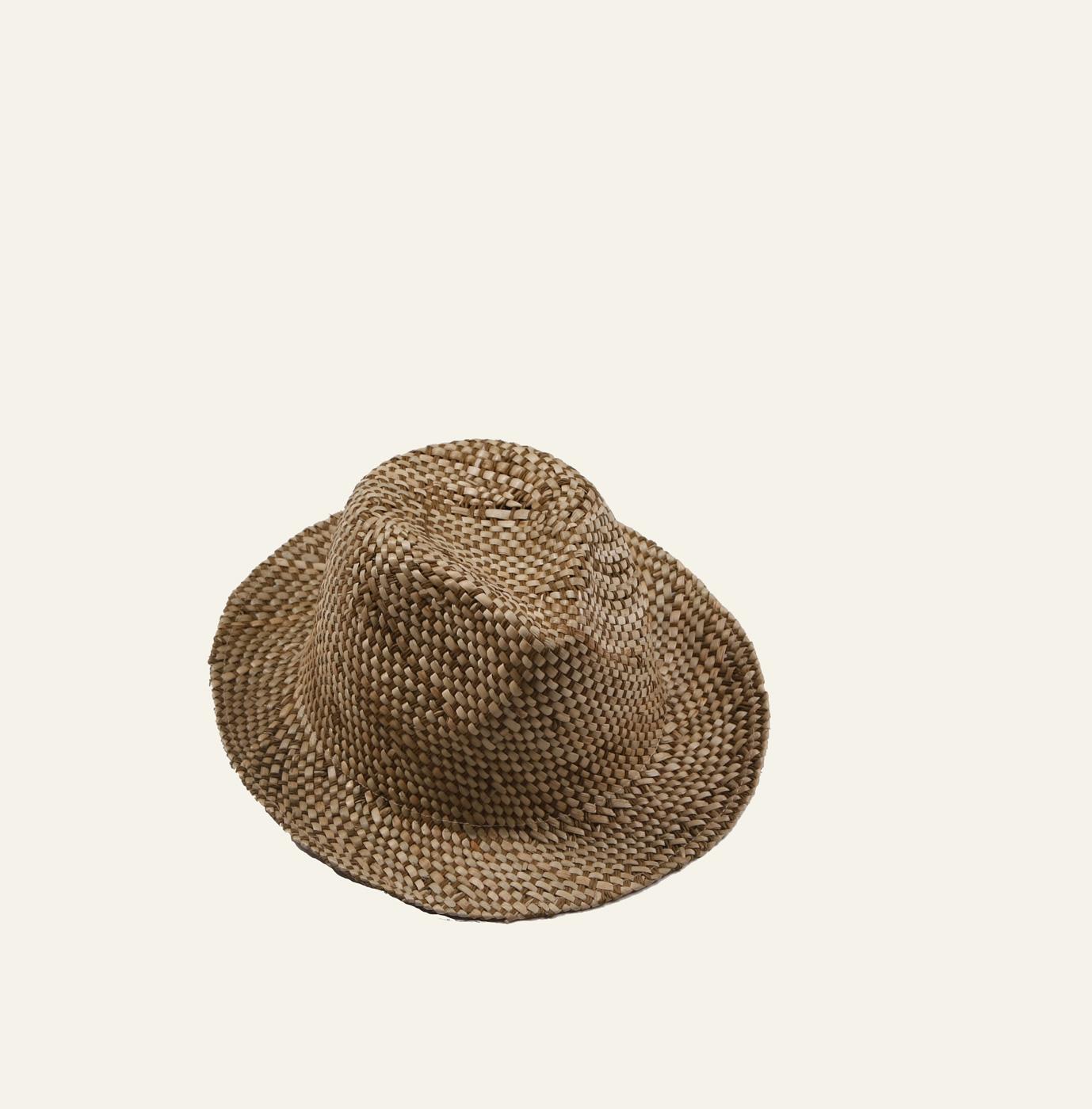 Dámsky letní slaměný klobouk Kbas hnědý 6623316c21