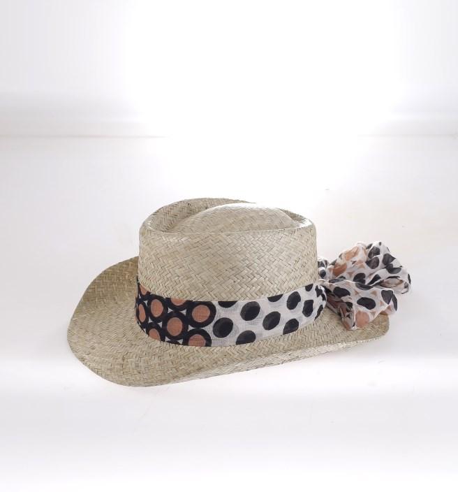 a15134a83 Dámsky plážový klobúk handmade Kbas krémový