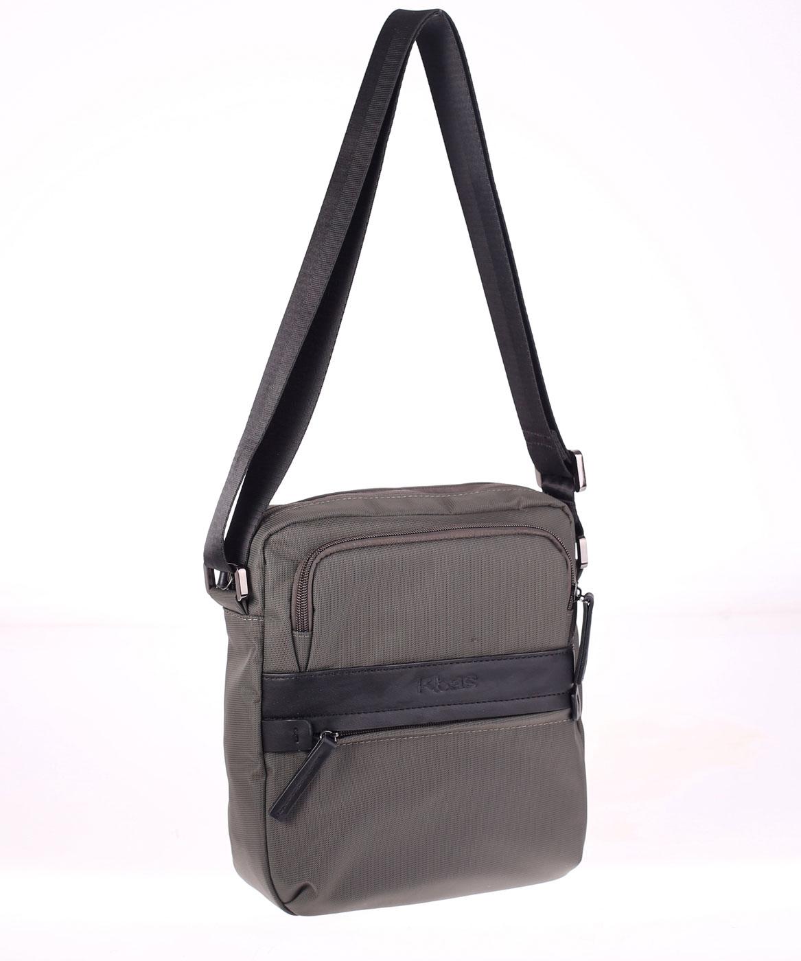 1a90ffd9a Kbas pánska taška z nylonu 335610G sivá | Kbas