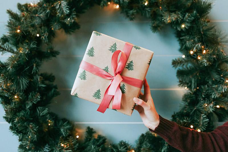 Balenie vianoce peciatky