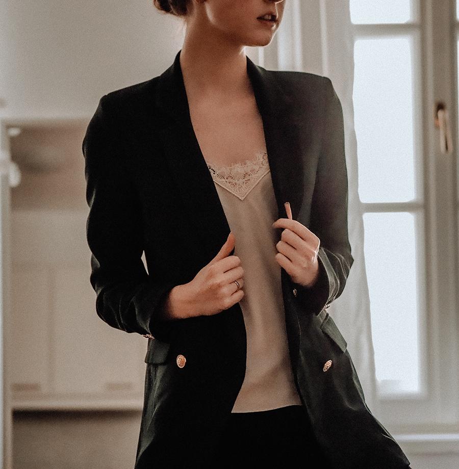 Základy šatníka: čierne sako 4x inak