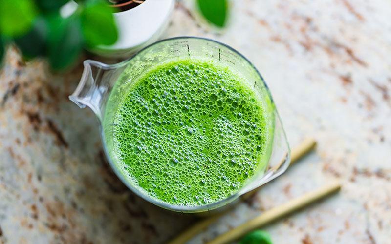 Detox zöld smoothie