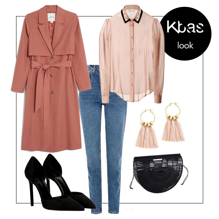 Dzinsy formalny outfit blog