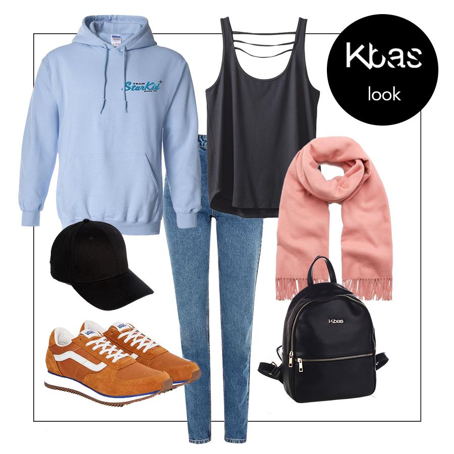 Dzinsy sportovy outfit blog