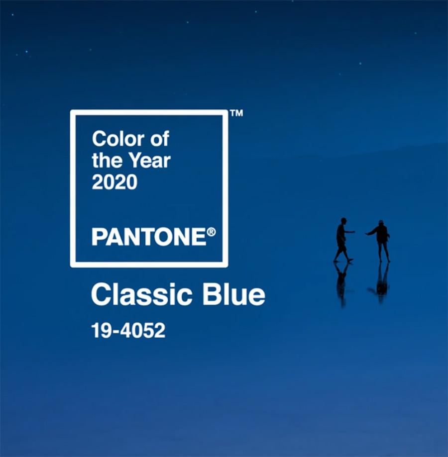 A 2020 év színe a klasszikus kék