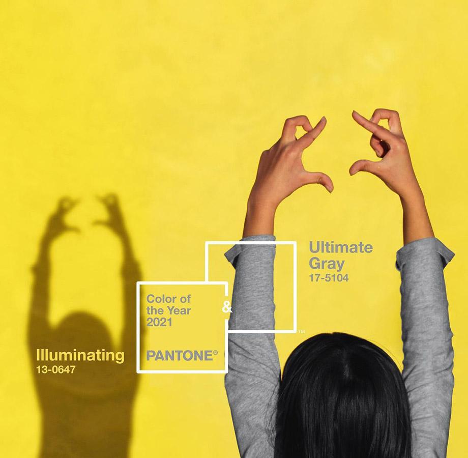 Zářivá žlutá a ultimátní šedá. Jaké jsou barvy roku 2021?