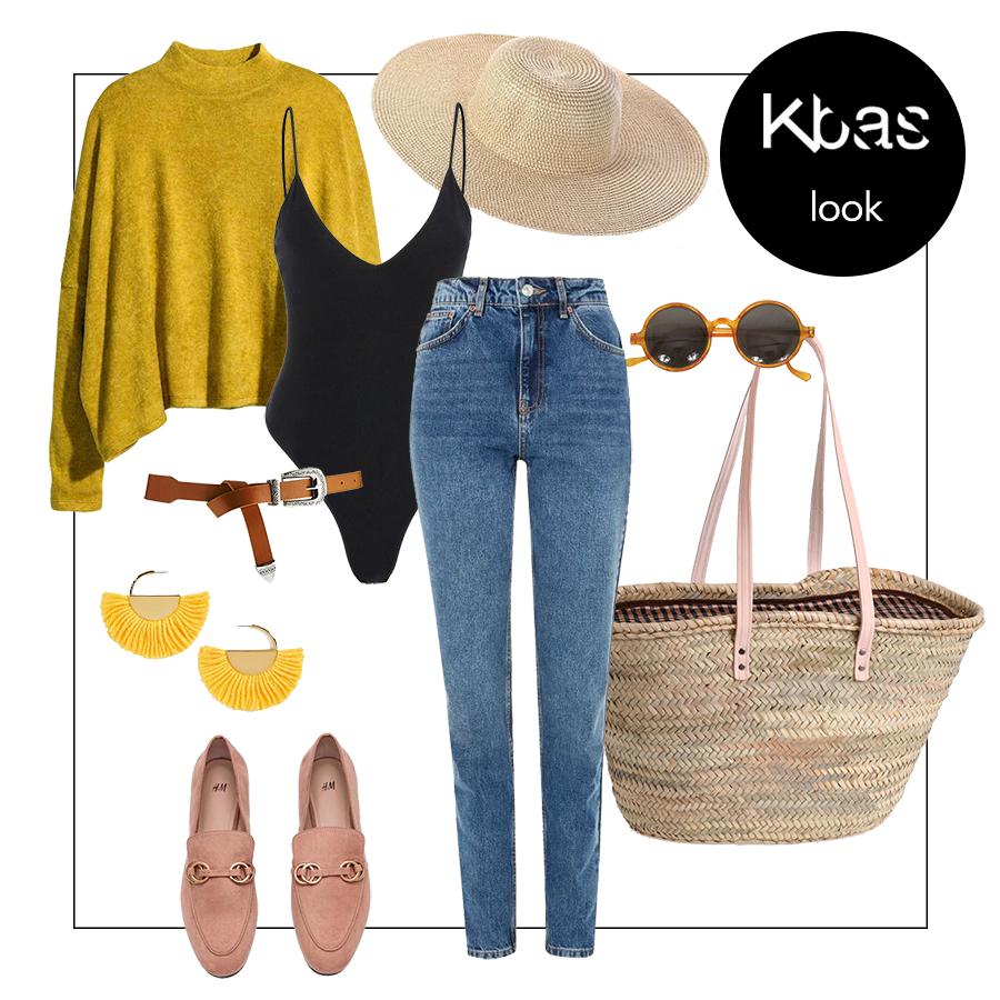 Farmer sárga pulóver blog
