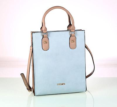 Modrá kabelka Kbas
