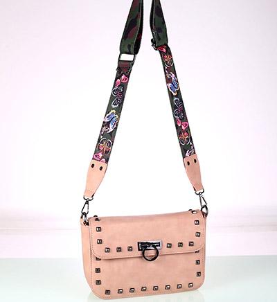 Ružová kabelka Kbas