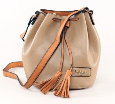 Béžová kabelka Kbas