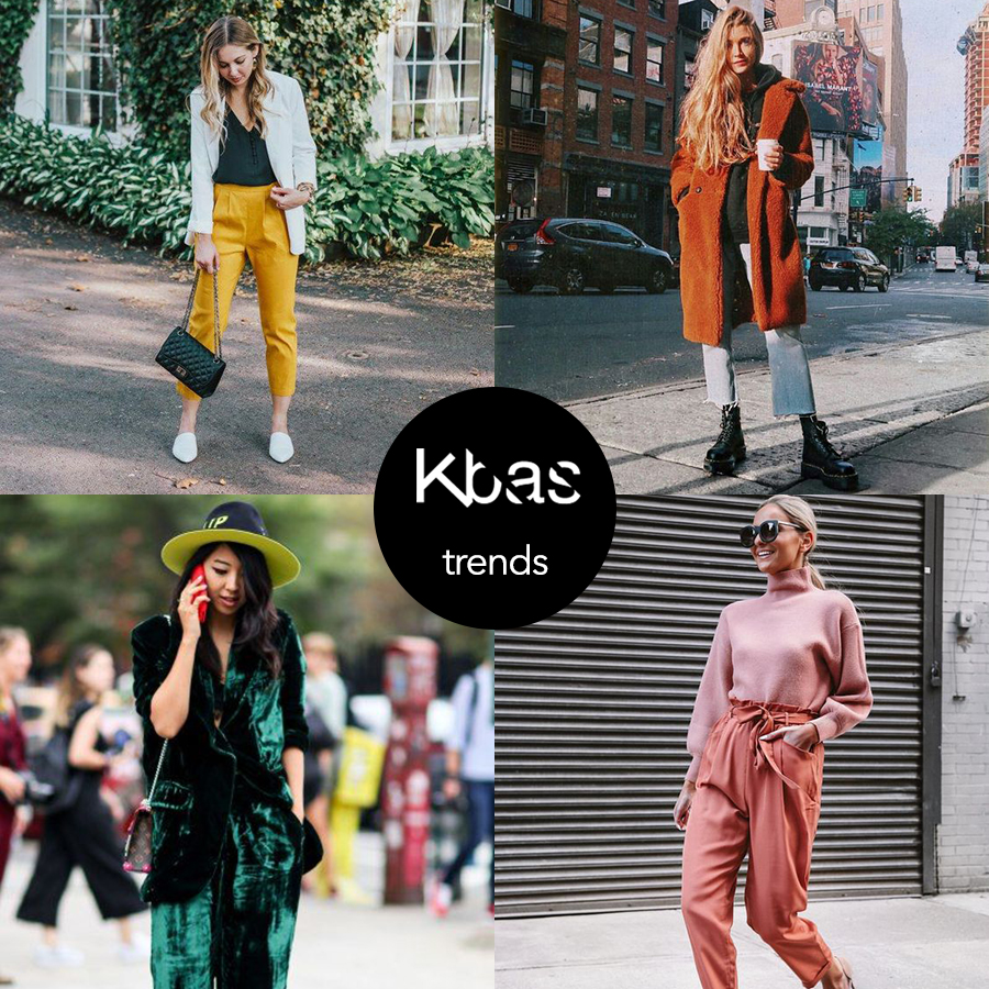 Jesenne trendy farby
