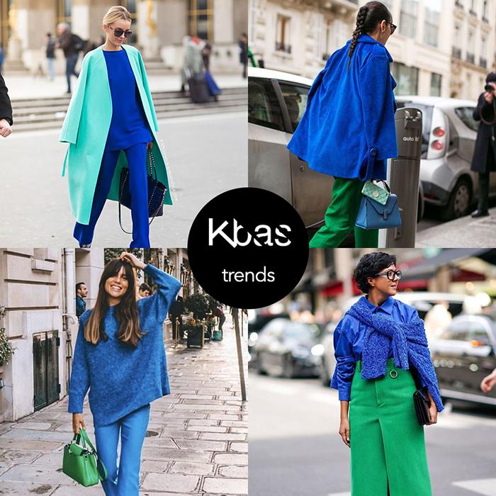 Klasicka modra zelena