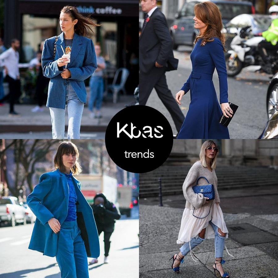 Klasszikus kék divat