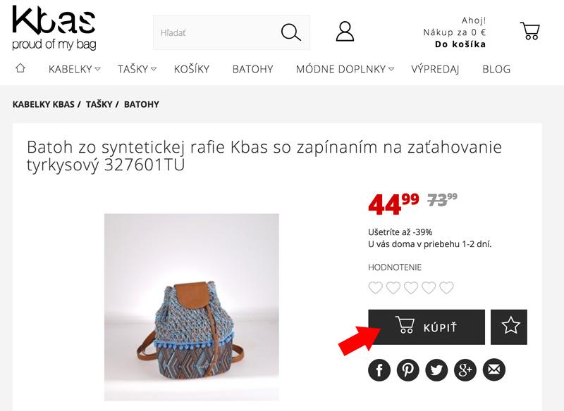 Kúpiť produkt