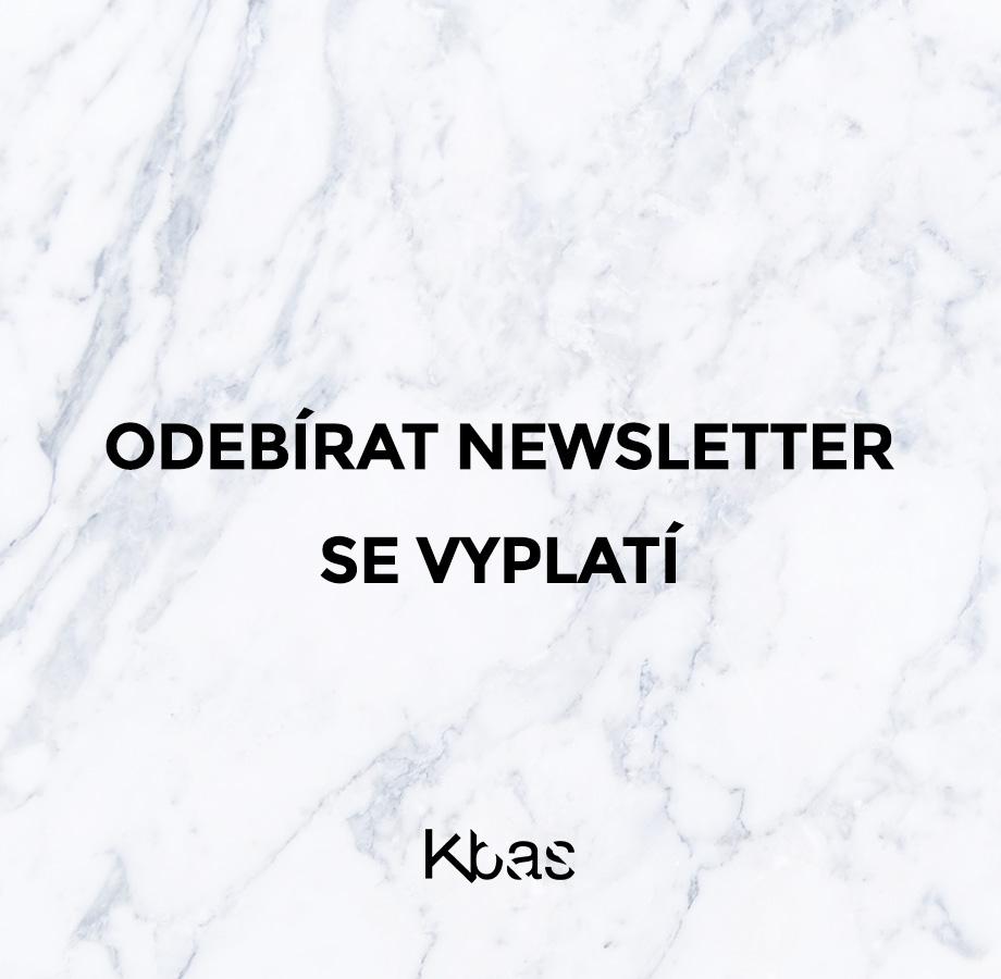 Odebírat newsletter se vyplatí!