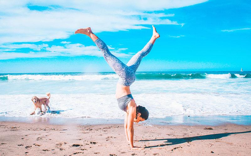 Nyár és jóga