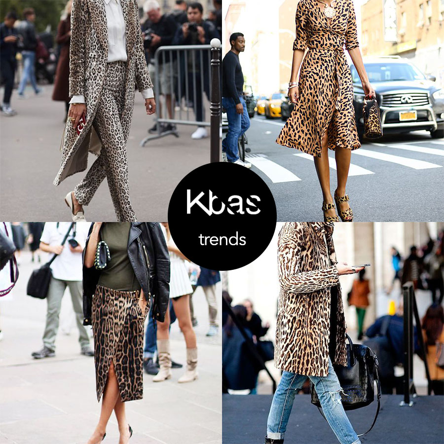 Trendy kozene leopard