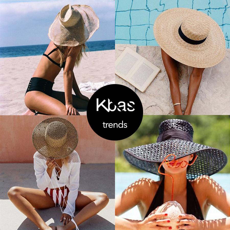 Trendy plavky klobuk