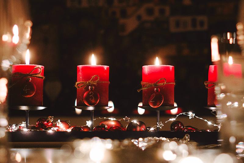Vianocne dekoracie advent