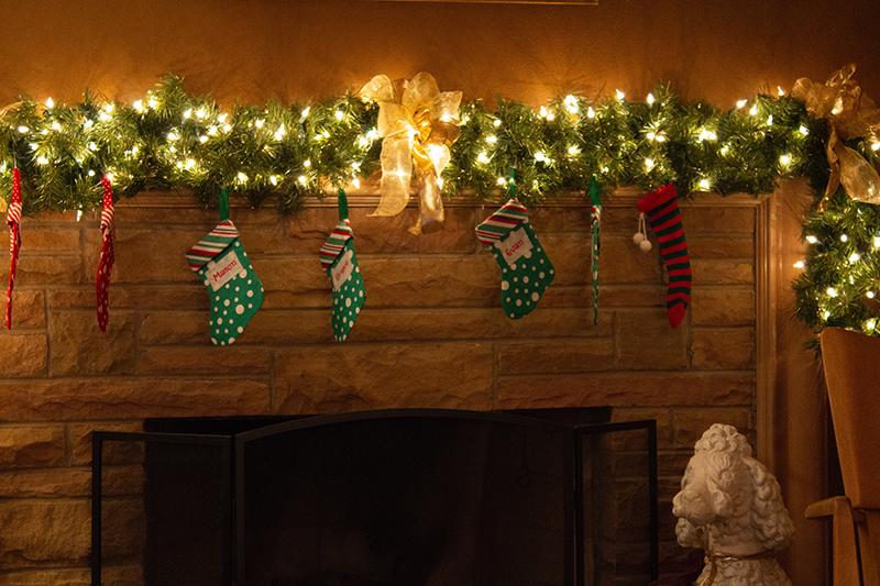 Vianocne dekoracie girlanda