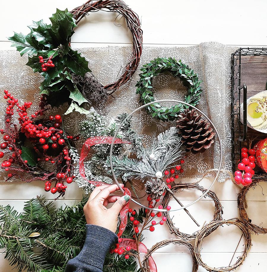 Last minute vianočné dekorácie