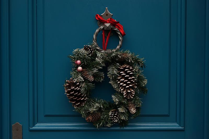 Vianocne dekoracie veniec