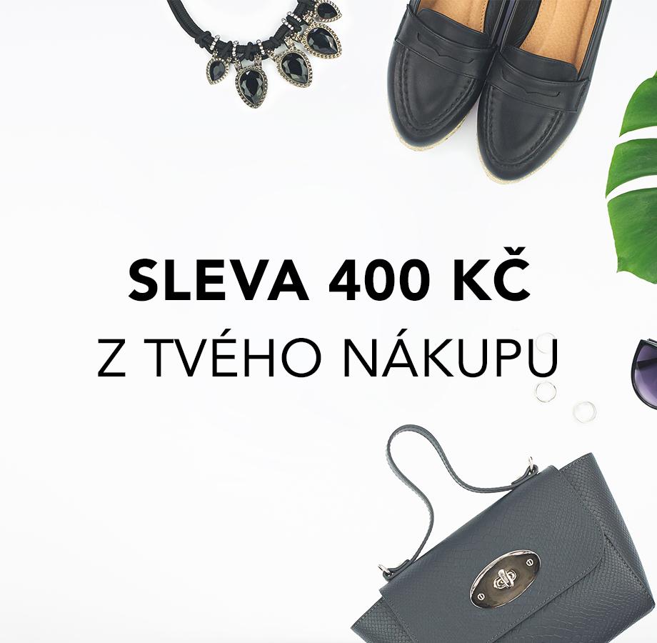Využijte slevu 400 Kč na libovolný nákup kabelek Kbas!