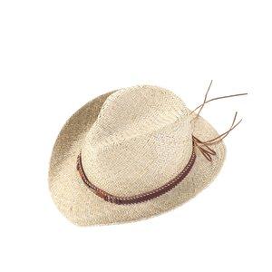 Klobouk cowboy slaměný Kbas KB019903
