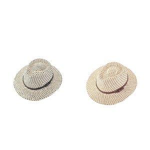 Pălărie din rafie sintetică Kbas KB019904