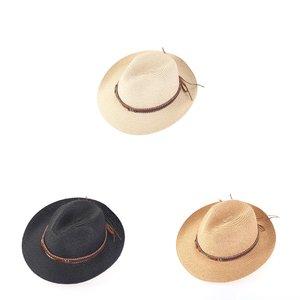 Pălărie din rafie sintetică borsalino Kbas KB019906