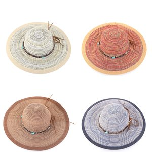 Pălărie de paie din rafie sintetică Kbas KB019911