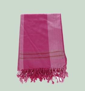 Pareo z bavlny Kbas fuchsiové 116507FX