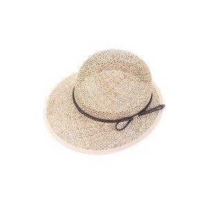 Női kalap szintetikus raffiából Kbas KB064917