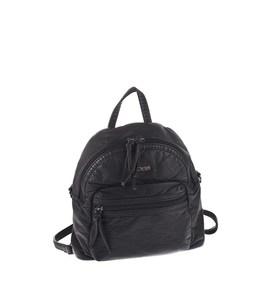 Dámský batoh z eko kůže Kbas s odepínatelným ramínkem černý