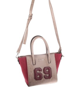 Elegantná kabelka z eko a syntetickej kože Kbas s číslom  béžová