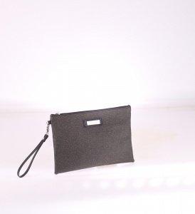 Dámska listová kabelka z PVC Kbas medená 085652CO