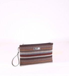 Listová kabelka Kbas z eko kože vzorovaná 085657G