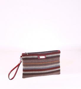 Dámska listová kabelka z eko kože Kbas červená 085657GR
