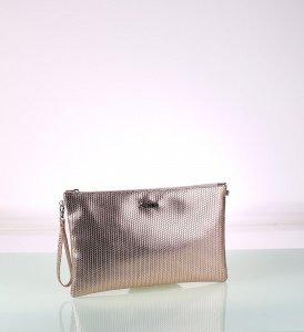 Dámska listová kabelka z eko kože Kbas ružová 085728RS