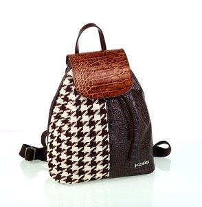 Dámský batoh Kbas se vzorem patchwork
