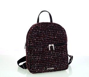 Dámsky batoh z vlny Kbas bordový