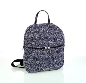 Női hátizsák gyapjúból Kbas kék