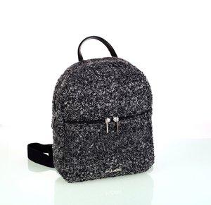 Dámsky batoh z vlny Kbas čierny
