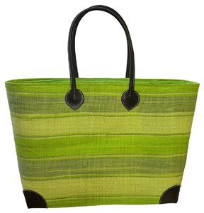 Dámský košík na pláž palmový Kbas tmavohnědý 087174
