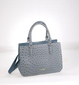 Elegantná kabelka z eko kože Kbas s odopínateľným ramienkom hranatá modrá