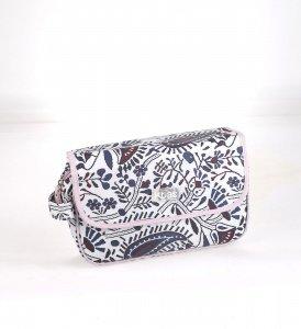 Kosmetická taška z PVC Kbas s přírodním motivem modrá