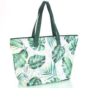 Plážová taška se zipem a vzorem Kbas KB184903