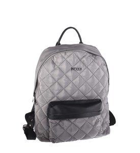 Dámsky batoh z nylonu Kbas prešívaný sivý