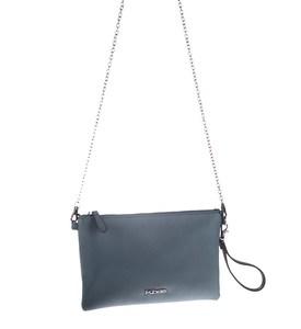 Listová kabelka Kbas z eko kože s odopínateľným ramienkom modrá